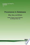 Provenance in Databases