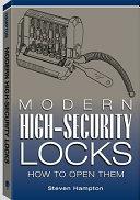 Modern High security Locks Book PDF