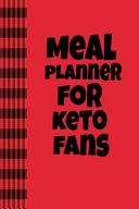 Meal Planner For Keto Fans