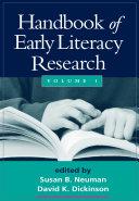 download ebook handbook of early literacy research pdf epub