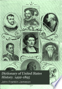 Dictionary Of United States History 1492 1895