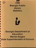 Georgia Public Library Statistics