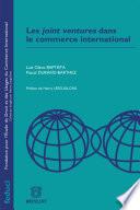 Les joint ventures dans le commerce international