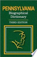 Pennsylvania Biographical Dictionary