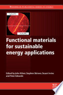Functional Materials for Sustainable Energy Applications