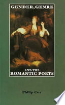 Gender  Genre  and the Romantic Poets