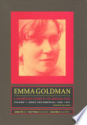 Emma Goldman  A Documentary History of the American Years  Volume One