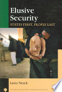 Elusive Security Of National International And Human Security Concepts And