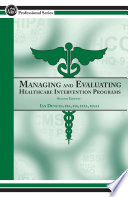 Managing and Evaluating Healthcare Intervention Programs