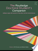 The Routledge Doctoral Student s Companion