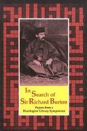 In Search of Sir Richard Burton