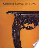 American Rococo, 1750-1775 Pdf/ePub eBook