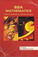 BBA Mathematics  MDU  Rohtak