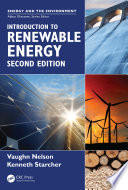 Introduction to Renewable Energy  Second Edition
