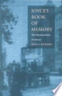Joyce   s Book of Memory