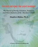 Ebook Physics Beyond the Light Barrier Epub Stephen Blaha Apps Read Mobile