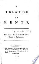 A Treatise on Rents