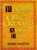 Principles of Object oriented Analysis and Design