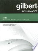 Gilbert Law Summaries on Torts  24th