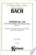 Cantata No  176    Es ist ein trotzig und verzagt Ding
