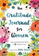 The Gratitude Journal For Women