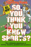 So  You Think You Know Sports