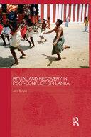 download ebook ritual and recovery in post-conflict sri lanka pdf epub