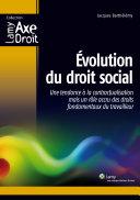 Volution Du Droit Social