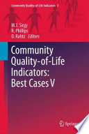 Community Quality Of Life Indicators Best Cases V