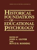 download ebook historical foundations of educational psychology pdf epub