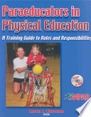Paraeducators in Physical Education
