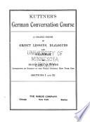 Kuttner s German Conversation Course