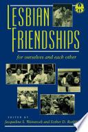Lesbian Friendships