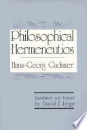 Philosophical Hermeneutics