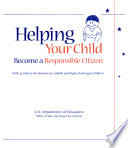 Helping your child become a responsible citizen Book PDF