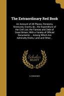 EXTRAORDINARY RED BK