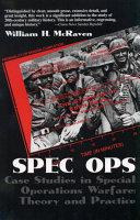 Spec Ops Book