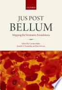 Jus Post Bellum