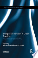 Energy and Transport in Green Transition