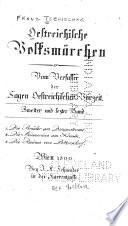 Oesterreichische Volksmärchen