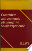 Computers and Economic Planning