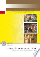 Liturgies in East and West