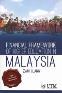 Financial Framework Of Higher Education In Malaysia Book PDF