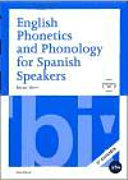 English Phonetics and Phonology for Spanish Speakers   CD  2a Ed
