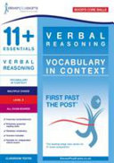 11+ Essentials Verbal Reasoning: Vocabulary in Context Level 3