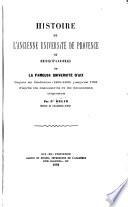 Histoire de l ancienne Universit   de Provence ou  Histoire de la fameuse Universit   d Aix