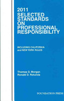 2011 Selected Standards on Professional Responsibility