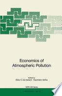 Economics of Atmospheric Pollution