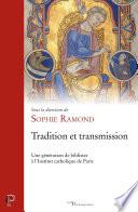 Tradition et transmission