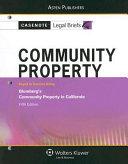 Community Property, Keyed to Blumberg